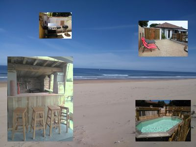 Photo for rental charming old house landaise 1817 Landes ocean beach lake swimming pool