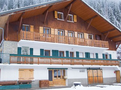Photo for Cozy chalet directly at the ski resort Portes du Soleil