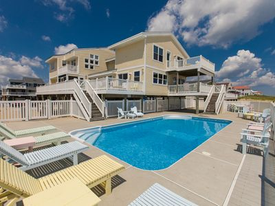 Photo for Modern 8 bedroom oceanfront home w/ private pool & hot tub