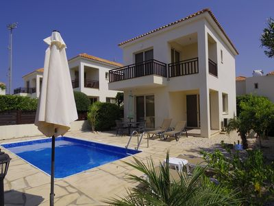 Photo for Detached Villa In Cul-de-Sac With Private Pool And Sea Views & Free WiFi.