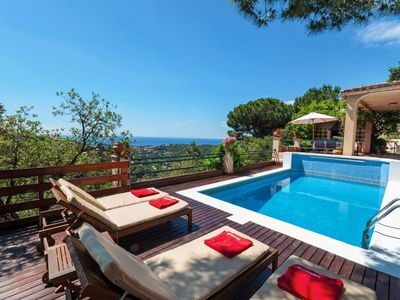 Photo for This 5-bedroom villa for up to 10 guests is located in Lloret De Mar and has a private swimming pool