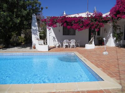 Photo for Villa with private pool in hills Sta Barbara de Nexe, beautiful views,WiFi