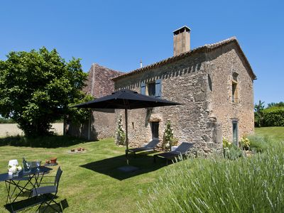 Photo for Go completely Dordogne at Le Mazet, 4-star cottage with breathtaking views