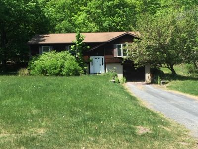 Photo for Woodstock  - 3 BR, 2 full bath in the country yet 3/4 mile from town