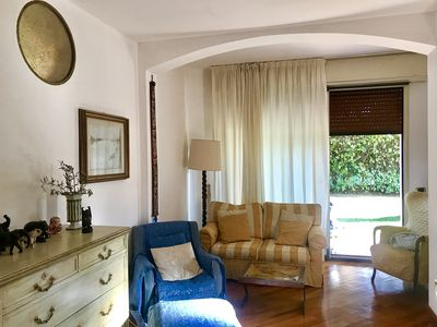 Photo for MONZA LUXURY APARTMENT IN VILLA WITH SWIMMING POOL  AND GARDEN