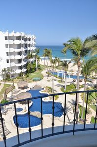 Photo for Steps to the beach, resort style condo