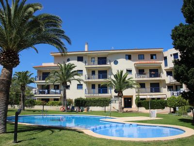 "Photo for Apartment a short walk from the ""Playa Cargador"" (250 m) conditioned on the 1st Floor"