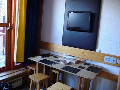 Photo for Les Arcs 1800 Ski Apartment Directly on the Piste