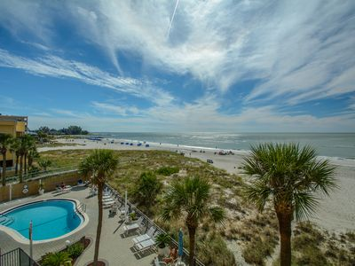 Photo for NEW LISTING! Gulf Front Condo with Pool - Madeira Norte
