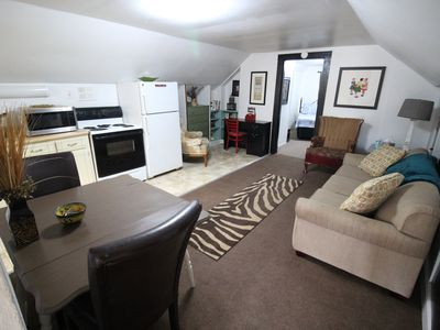 Photo for Newly Renovated, Completely Furnished Cozy Attic Apartment