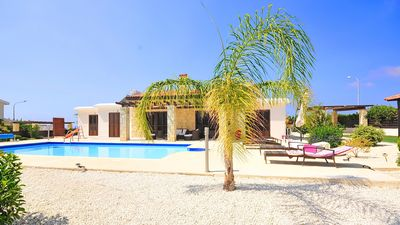 Photo for Villa With Private Pool And Sea Views - Car Hire Not Necessary - Heated Pool.