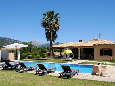 Photo for Cosy finca with big private swimming pool very centrally located on the island