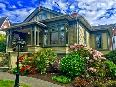Photo for Walk to Inner Harbour and Ocean. Fully equipped uniquely restored heritage home