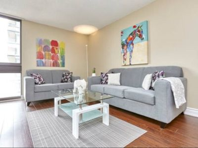 Photo for 1 Bed, 1 Bath modern suite in Downtown Toronto - YORKVILLE! #813