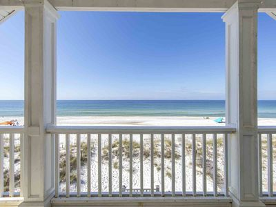 Photo for Enjoy Stunning Views of the Gulf in this Beachfront Home ~ Private Pool