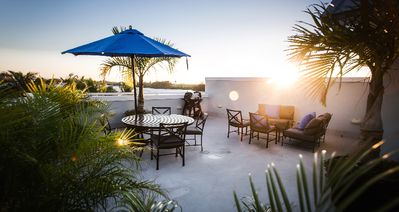 Photo for Your own Beach Villa with private rooftop terrace