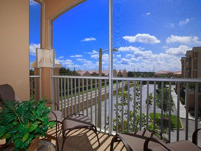 Photo for 3-bedroom vacation condo rental in Windsor Hills Resort with private patio balcony
