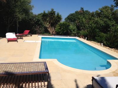 Photo for VILLA WITH SWIMMING POOL 5 minutes from Bormes la faviere and its BEACH