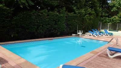 Photo for pretty studio with pool and park 600 m to the beach
