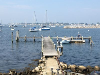 Photo for Charming 1869 Waterfront, $Million+ Home w Large Dock, Deep Water Boat Mooring