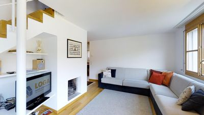 Photo for Bright and quiet 3½-roomed apartment on the top floor, 97m2, facing southwest.