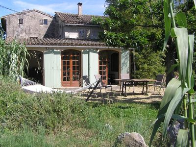 Photo for Spacious Bergerie Cottage, POOL, 3 Bedrooms, sleeps 5, its own shady garden,wifi