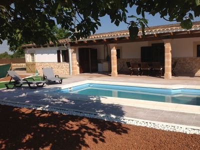 Photo for Rural Villa Sleeps 6/8 A/C With Pool, Wifi, Table Tennis, bikes