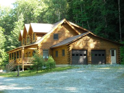 Photo for Log Home in the Berkshires