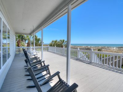 Photo for Save on Spring & Summer! Oceanfront, Luxury & Privacy - Rockers & Swing