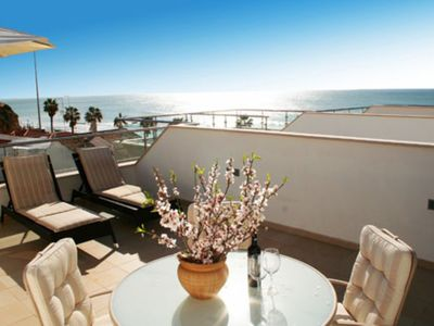 Photo for Luxury Beach-side Apartment with Swimming Pool and Beautiful Sea Views