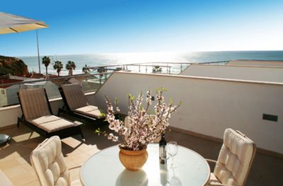Wonderful sea view from the terrace