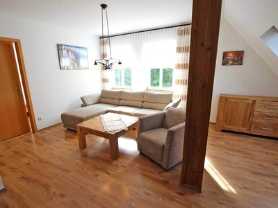Photo for UCK 1121 - Apartment P1 - holiday property directly on the Zenssee Lychen UCK 1120