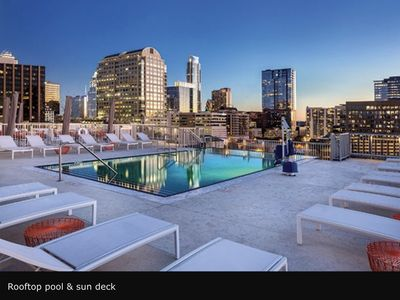 Photo for Prime Austin 2 BR downtown new location