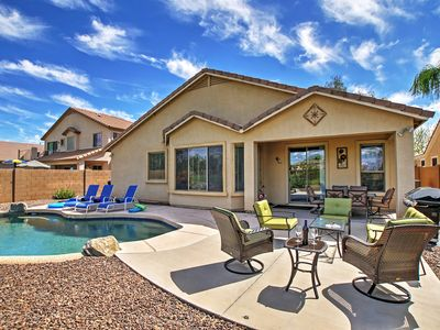 Queen Creek Home w/Private Pool + Golf Course View