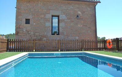 Enjoy a hot summerday in the relaxing pool