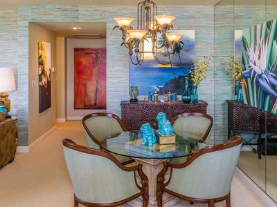 Photo for Elegant Vista Condo with Ocean-Mountain Views
