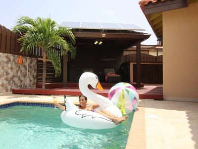 Photo for Welcome to Dushi Tortuga with Pool and Outdoor Shower