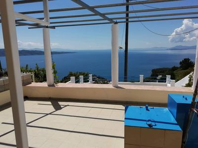 Photo for Villa Bay View with Stunning Sea Views on the East coast of Corfu