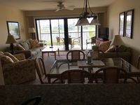 Really nice condo. Very quiet and peaceful. Great pools in this complex