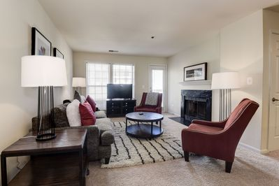 Inviting Living Spaces with Hardwood Style Floors