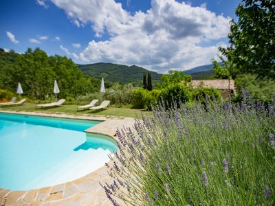 Photo for Converted farmhouse apartment, Swimming Pool, free WIFI (Masolino)
