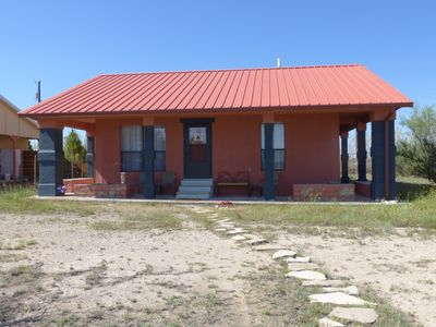 Photo for Rustic, unplugged bungalow perfect for exploring Big Bend area.
