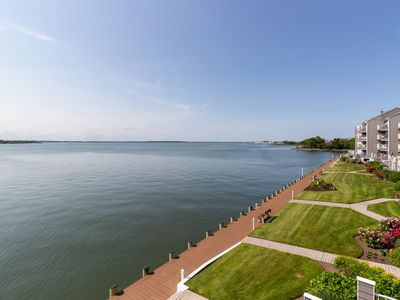 Photo for Waterfront gem with sweeping views, a shared pool, and community tennis