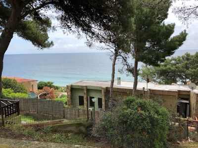 Photo for Semi-detached villa 100 meters from the sea in Santa Margherita di Pula - 6 beds