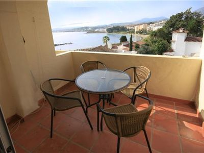Photo for Beautiful apartment with stunning sea & bay views, Overlooking Cristo Bay in Estepona Port