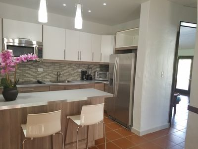 Newly remodeled villa with new kitchen cabinets and appliances