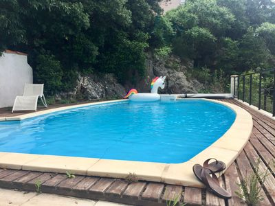 Photo for Nice house with swimming pool and garden in Montpellier at the level of 4 Lords
