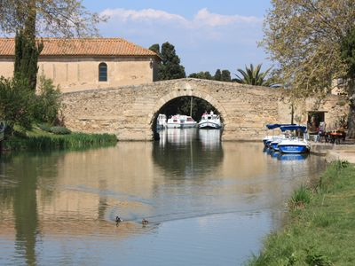 Photo for Rental villa 6 people 2 steps from the lake Jouarres and the Canal du Midi
