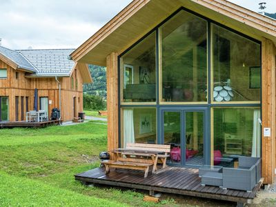Photo for Detached panoramic luxury chalet with spa below the Kreischberg