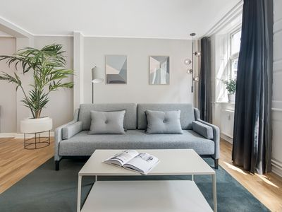 Photo for Rosenborg Hotel Apartments | 2 Bed Rooms | Prime Location | Scandinavian Design